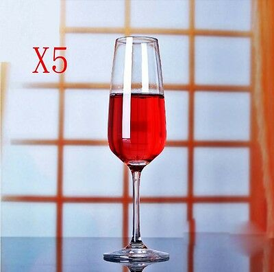 New 5X Capacity 283ML Height 231MM High Foot Champagne Wine Glass/Glassware %