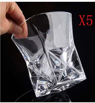 New 5X Capacity 250ML Height 100MM Creative Whisky Wine Glass/Glassware %