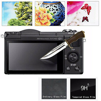 New Tempered Glass LCD Screen Protector Film For Sony Alpha A6000 A5100 A5000