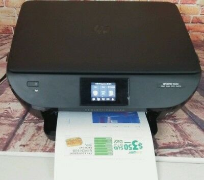 Hp Envy 5660 Color Aio Photo Printer Wireless Scanner Copier