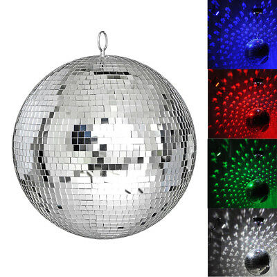 Disco Reflective Ball - 30cm Mirror Glass DJ Dance Event Party Club Stage Light