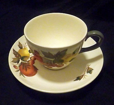 """Wedgwood Cup & Saucer """" Convent Gardens """".. .. .. .. .. .. .. ..."""
