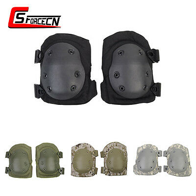 Military Tactical Knee Pads Protective Pad Cushion Gear Skating Airsoft Outdoor