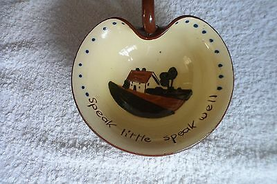 dartmouth ware pottery jam dish