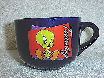TWEETY BIRD Looney Tunes Warner Bros Large Soup MUG Cup