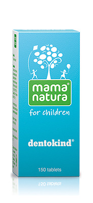 Dentokind *150tabs Homeopathy Teething Symptoms Relief by Mama Natura