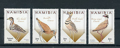 Namibia 2015 MNH Coursers of Namibia 4v Set Birds Stamps