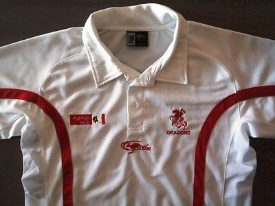 ST GEORGE DRAGONS RLFC RUGBY LEAGUE POLO SHIRT NRL not JERSEY ILLAWARRA CLASSIC