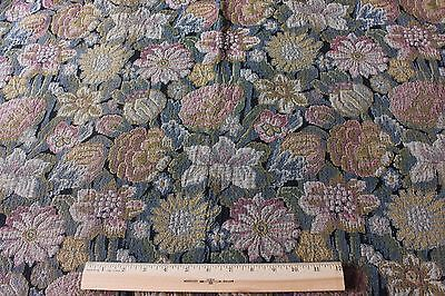Beautiful French Antique Tapestry Textile Fabric Panel c1890~Muted Colors