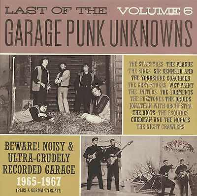 LAST OF THE GARAGE PUNK UNKNOWNS Vol 6 vinyl LP NEW garage punk Fuzztones Sires