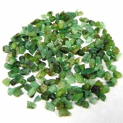 42.20 Cts100% Natural Brazil Green Emerald Loose Gemstone Rough Specimen Lot
