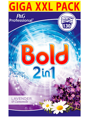 Laundry Powder Detergent Bold 2 in 1 Lavender & Camomile 130 Washes