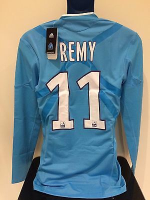 Olympique de Marseille REMY 2010/2011 Away BNWT Football Shirt (L) Player Issue