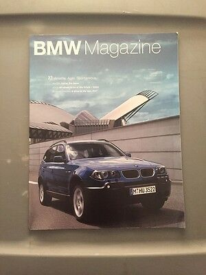 BMW Magazine, 4/2003 Issue, X3 Cover