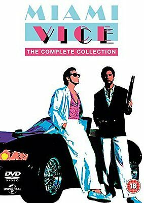 Miami Vice: Complete Series (Season) 1-5 Definitive Collection Box Set | New DVD
