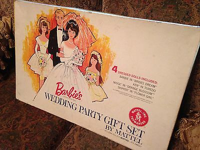 REDUCED! Barbie's Wedding Party Gift Set! Super Rare!