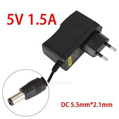 AC to DC 5.5mm*2.1mm 5.5mm*2.5mm 5V 1.5A Switching Power Supply AU/EU/UK/US PlUG
