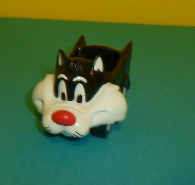 Arby's Meal Toy Sylvester Cat Car 1989 Warner Brothers Looney Tunes