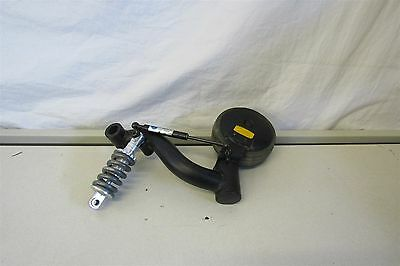 Pride Quantum Rehab Power Chair Replacement Left Castor Wheel with mount Shock