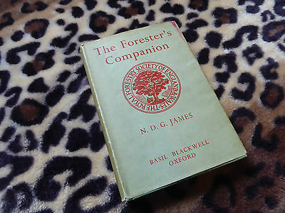 Forestry Worker? 1955 Book Forestry Planning Tools Trees Felling Management Hb +
