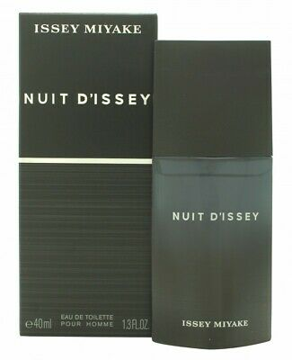Issey Miyake Nuit D'issey For Men Eau De Toilette 40Ml Spray - Men's For Him