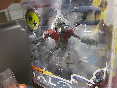 Red Grunt Halo 3 Collection Series 6 Mcfarlane Toys New in Box