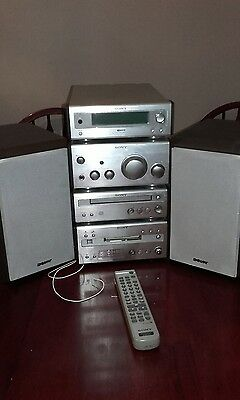 Sony mini disk cd- md player