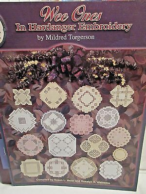 WEE ONES in Hardanger Embroidery Chart by Mildred Torgerson