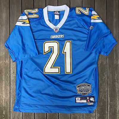 LaDainian Tomlinson NFL San Diego Chargers Collectors Rushing Record Reebok