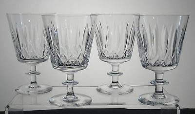 """NELSON by E&L EDINBURGH and LEITH Water Goblets 5 1/4"""", SET of FOUR"""