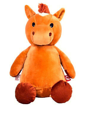 Personalised Embroidered Easter Horse Pony Soft toy Teddy Cuddly Gift
