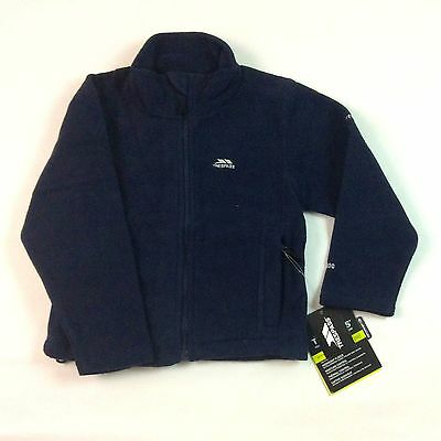 26 x Wholesale job-lot CHILDRENS TRESPASS FLEECE JACKETS Navy Blue All Sizes