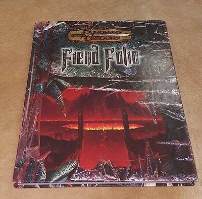 Dungeons and Dragons D&D 3.5 Fiend Folio Wizards of the Coast