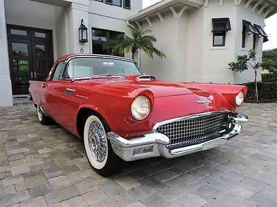 1957 Ford Thunderbird  1957 Ford Thunderbird Convertible - Immaculate, Low Miles, Restored, Both Tops