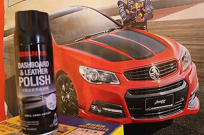 Dashboard and Leather Polish for Cars, 450mL, (multi-purposes use)