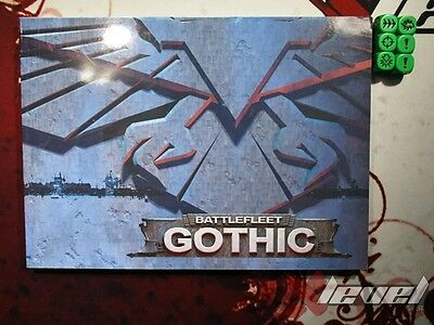 Rulebook and Dice [x1] Battlefleet Ghothic [Games Workshop Specialist Game] Good