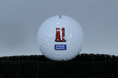 A-1 steak sauce Novelty golf ball For collector of food advertising