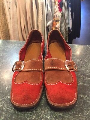 Vintage 70s Loafers Women