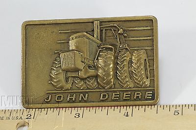 John Deere 50 series Belt Buckle Official company issue 1982