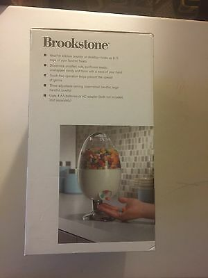Brookstone SnackMan Motion-Activated Treat and Candy Dispenser-BRAND NEW