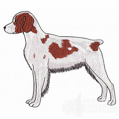 Brittany Spaniel (Larger  Embroidery Patch