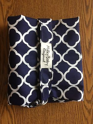 NEW  >NURSING COVER BREASTFEEDING  cover Blue Lattice