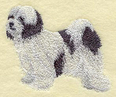 Tibetan Terrier Embroidery Patch