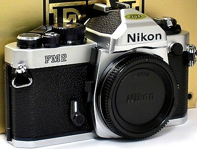 ** NEW IN BOX, NEVER USED  ** Nikon FM2N 35mm Camera w/ TITAN SHUTTER