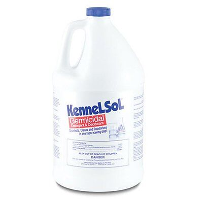KennelSol Gallon Veterinary & Kennel Disinfectant Dogs Cats Rabbits Hedghogs