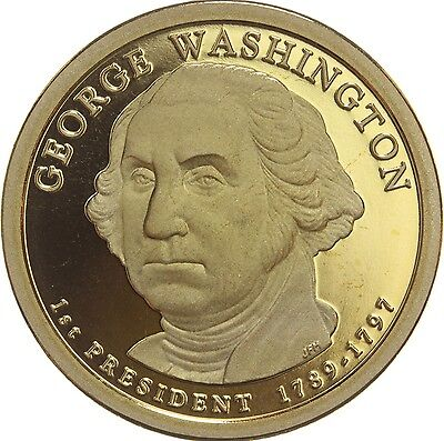 """2007 S George Washington Presidential Dollar """"PROOF"""" US Mint Coin (Discounted!)"""