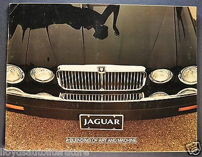 1981 Jaguar XJ6 series III Catalog Sales Brochure US Market Original 81