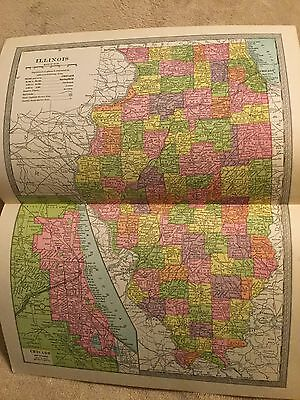 1904 Illinois Chicago Map