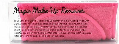 4 x Pink Reusable Soft Microfiber Towel Makeup Eraser Makeup Remover Cloth
