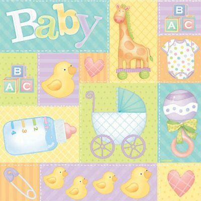 gift wrap 5 pastel patchwork